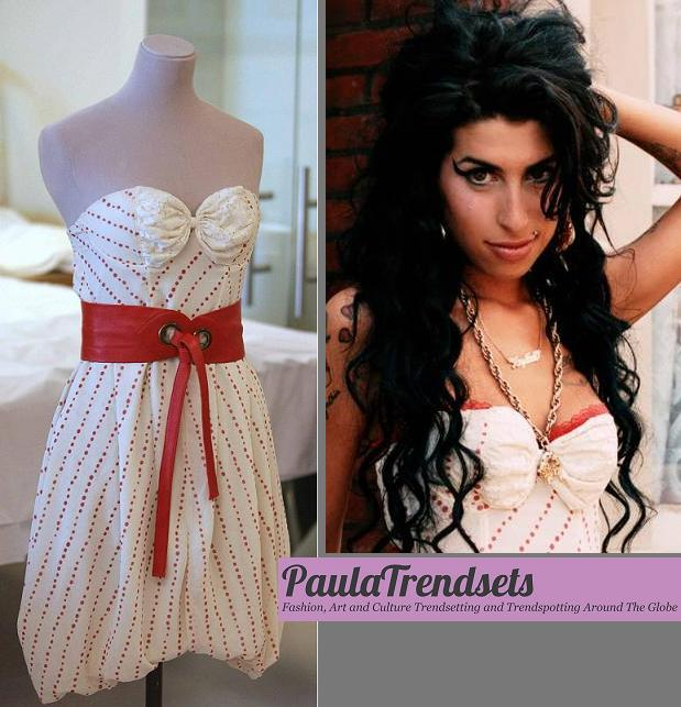 Amy Winehouses Dress Exhibited In Chile PaulaTrendSets