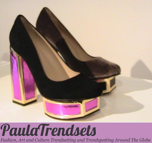 Outstanding women's shoes – London Fashion Week