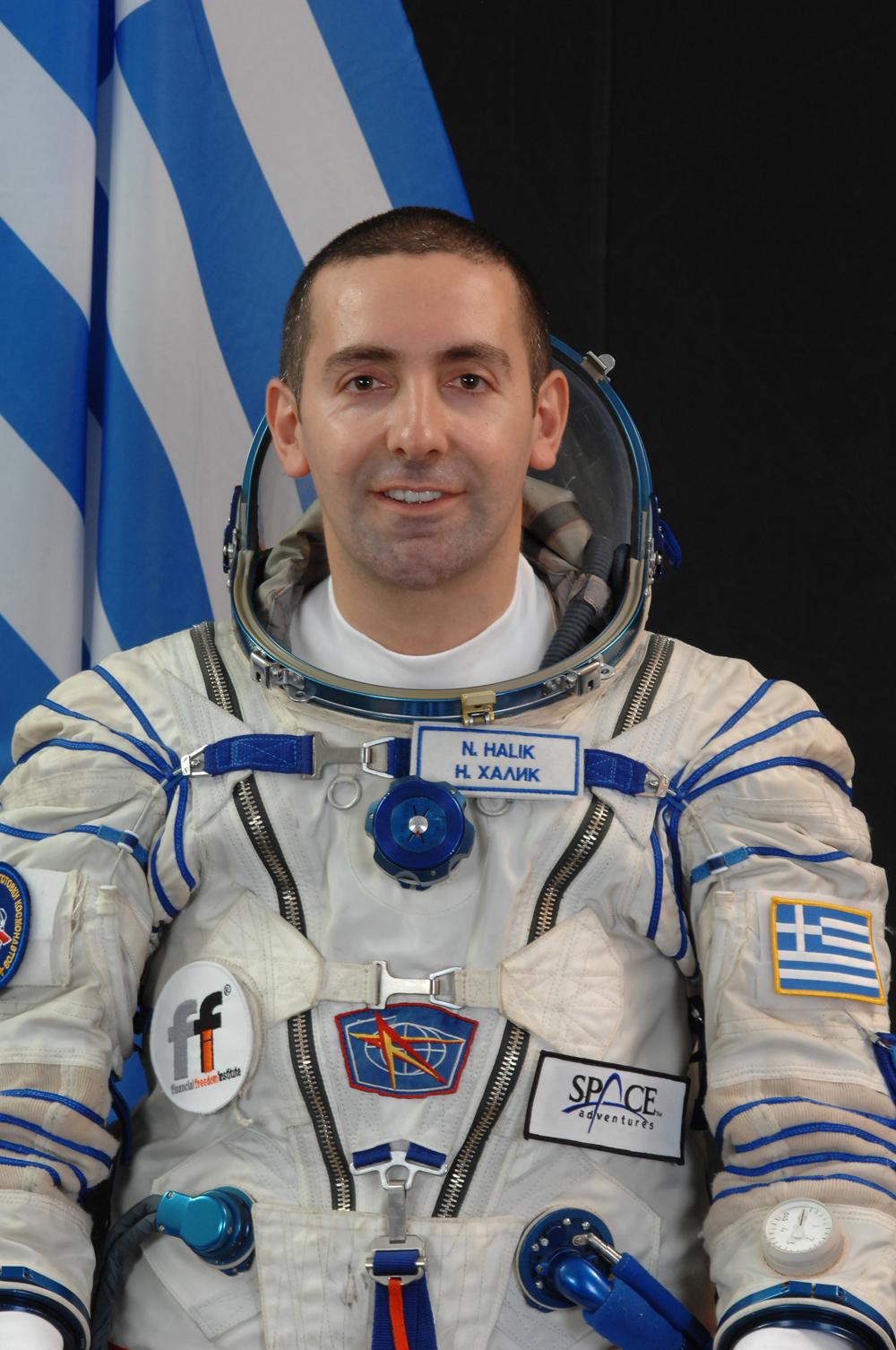 nik halik  u2013 greek astronaut  u2013 paulatrendsets
