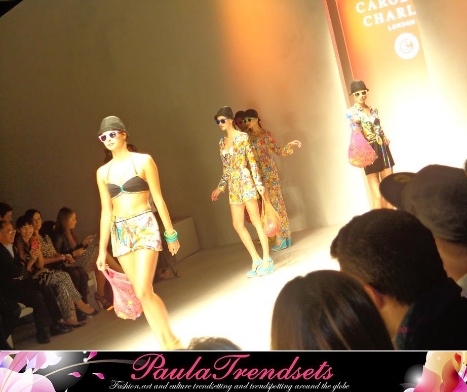 London Fashion Week – Caroline Charles ss13