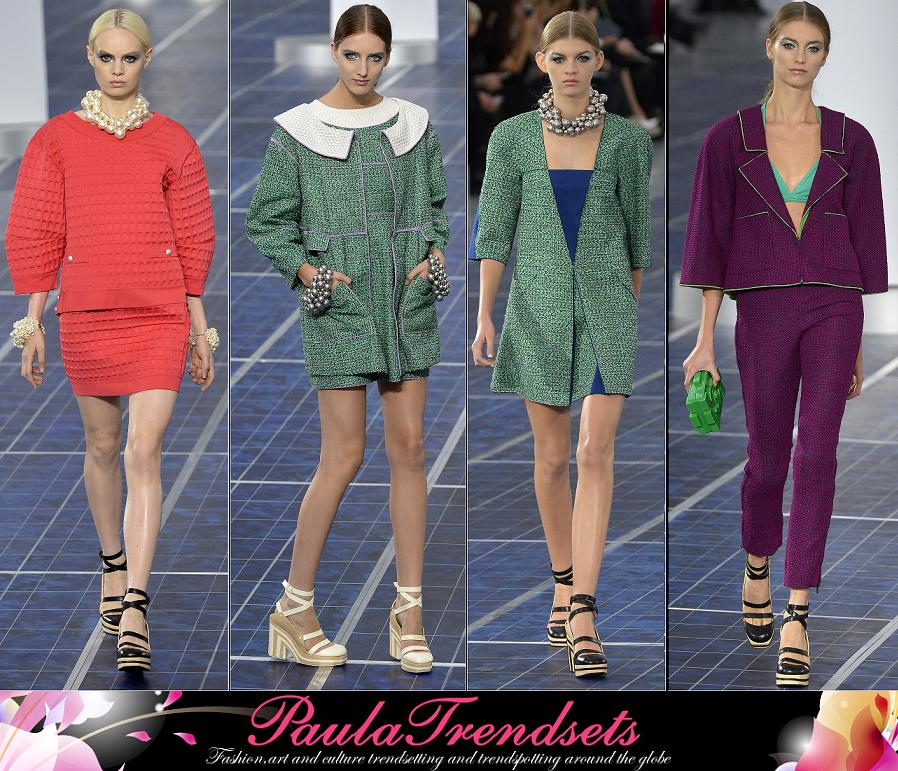 Chanel fashion spring summer 2013 - PaulaTrendsets