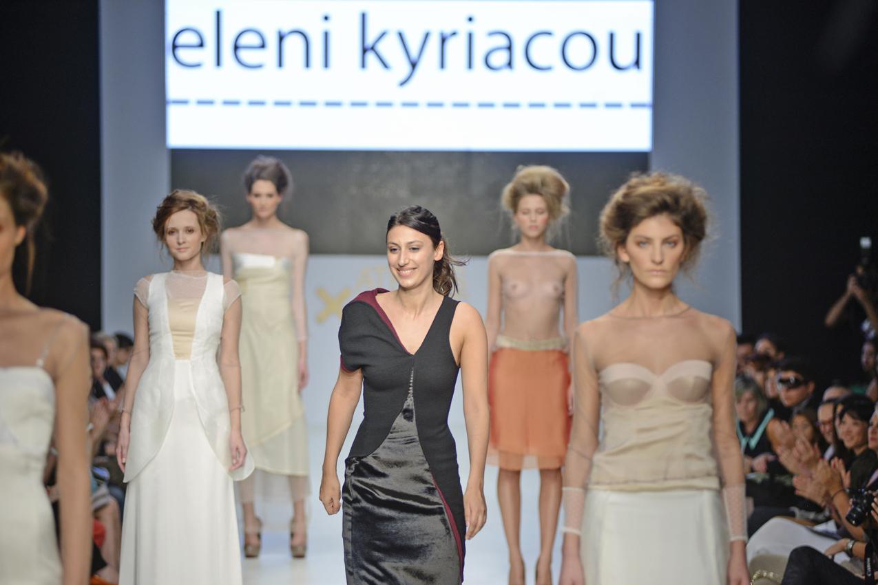 Eleni Kyriacou catwalk show at AXDW (video)