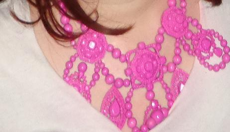 LANVIN FOR H&M PINK NECKLACE