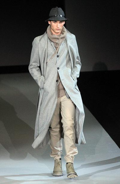 Men's Winter Fashion by Emporio Armani