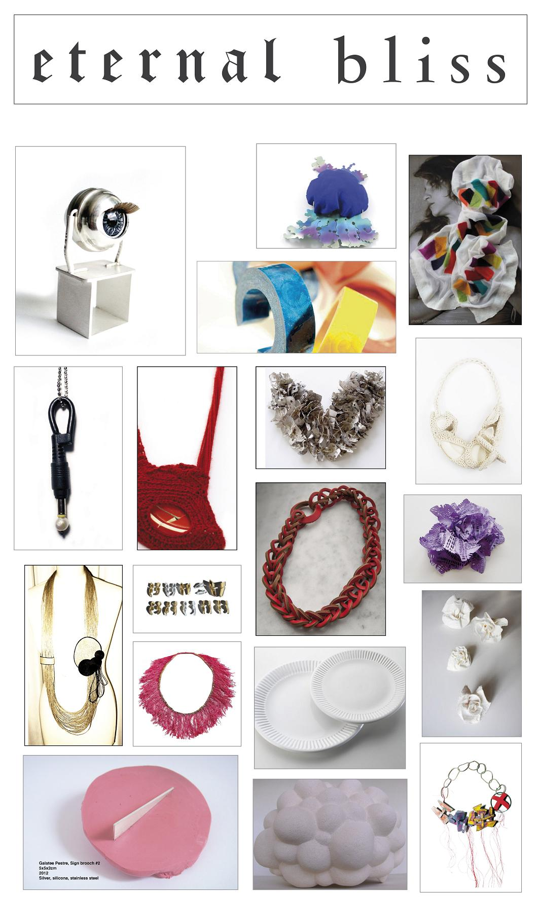 eternal bliss CONTEMPORARY JEWELLERY EXHIBITION ATHENS EL.MARNERI GALERIE