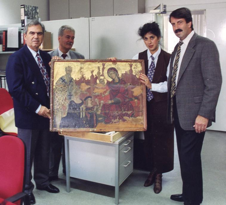 Tasos Panagiotou-Cyprus Police, Tasoula Hadjitofi, Peter Kichler-German Police