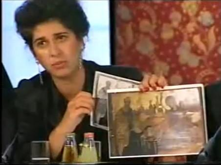 Tasoula Hadjitofi at the conference given on 20 October 1997 in Den Haag...2