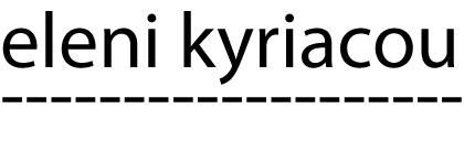 eleni kyriacou logo