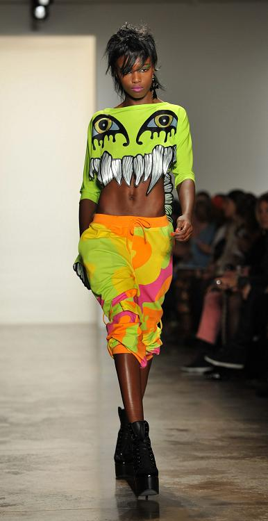 Jeremy Scott Runway - New York Fashion Week Fall 2013