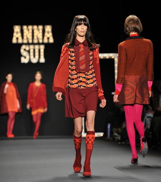 Anna Sui Runway - New York Fashion Week Fall 2013