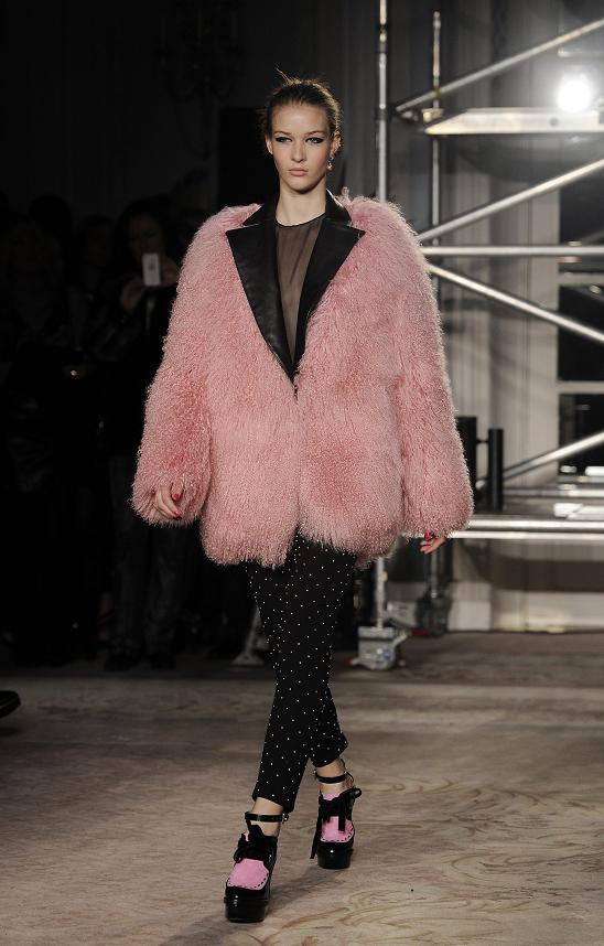 Moschino Cheap & Chic - Runway - London Fashion Week Fall Winter 2013