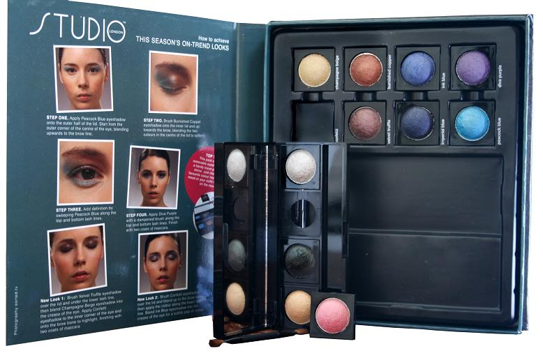 STUDIO LONDON CUSTOM EYES EYE MAKEUP KIT