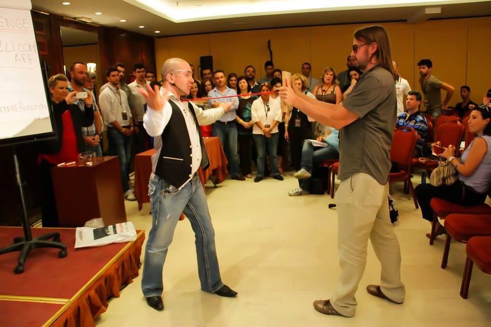 Thrillionaire Revolution Greece 2013 Arrow Breaking