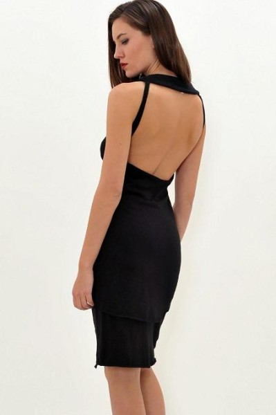 Backless Little Black Dress by Eleni Kyriacou