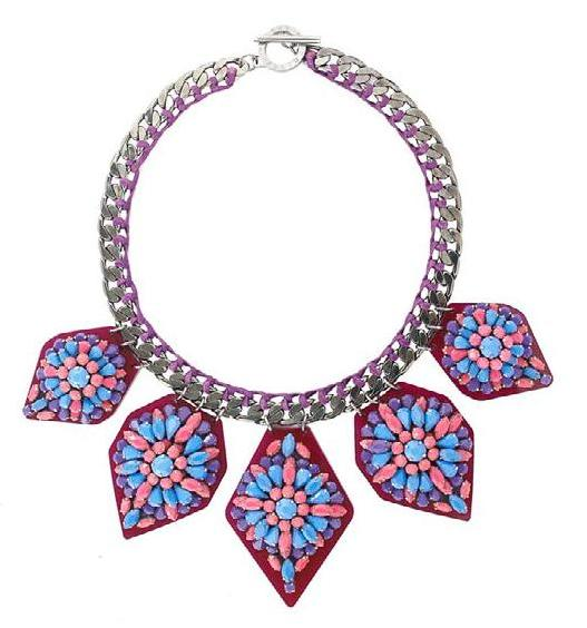 FOREST OF CHINTZ necklace