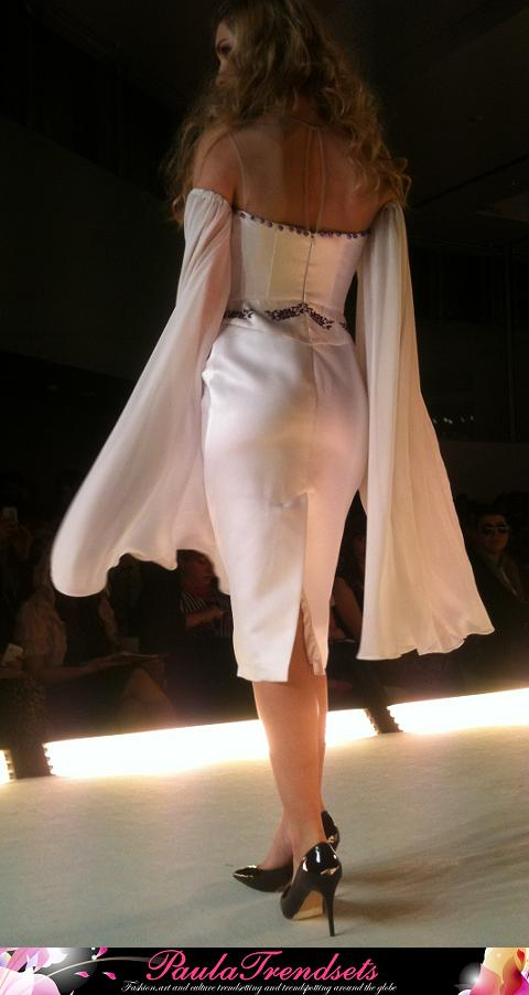 Sandy Antoniou fashion dress Spring Summer 2014