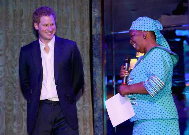 Sentebale Summer Party 2014 Prince Harry Malineo Motsephe