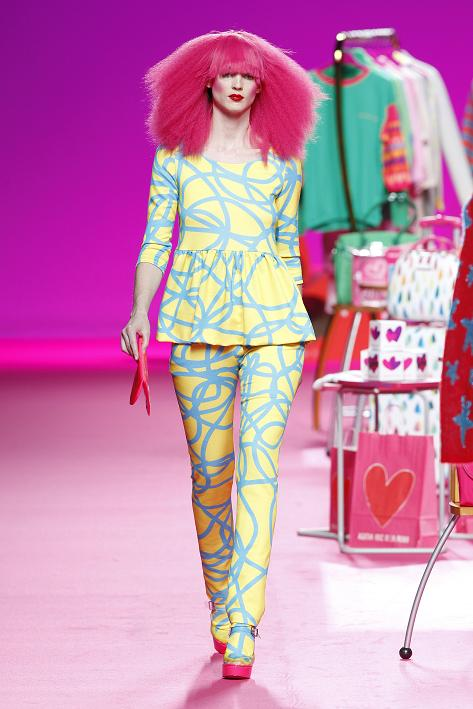 Agatha Ruiz de la Prada fashion collection Fall Wnter 2014-2015