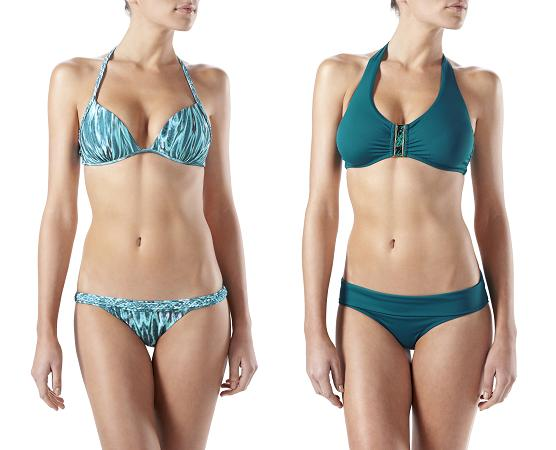 Laos Plaited Halter Push-Up Top and Puerto Rico DtoG Swimsuits heidiklein