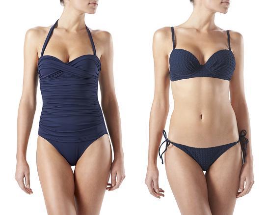 perfect fit swimwear blue bikini