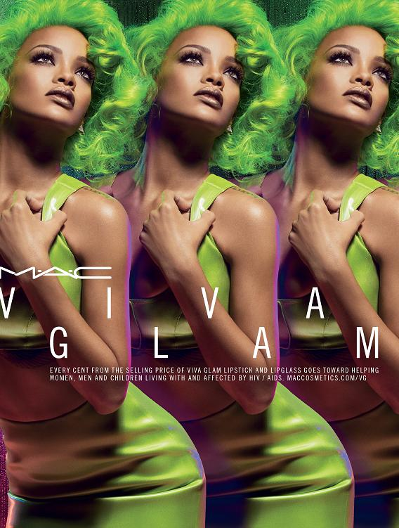 VIVA GLAM RIHANNA II BEAUTY FALL 2014