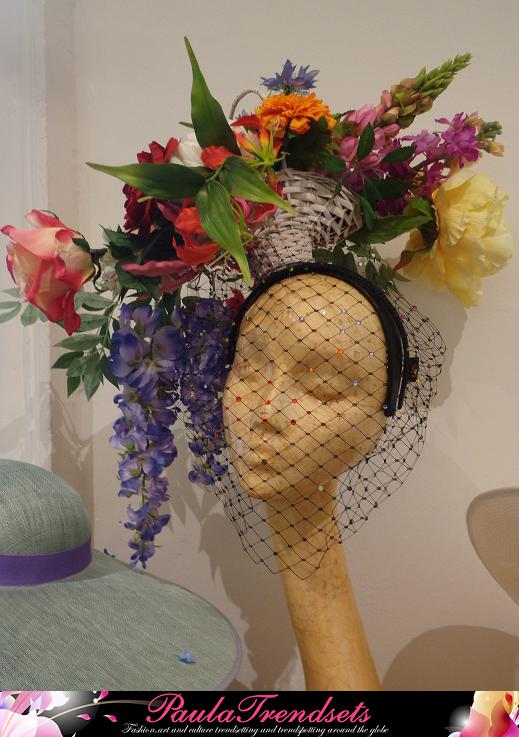 London Fashion Week Piers Atkinson Millinery