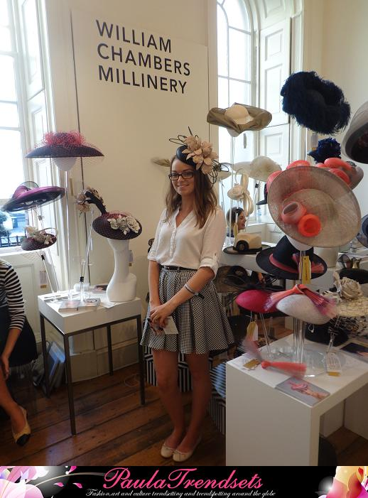 William Chambers Millinery London Fashion Week