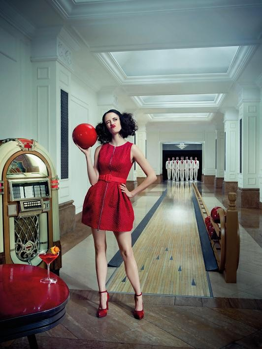 Campari Calendar 2015 50s fashion