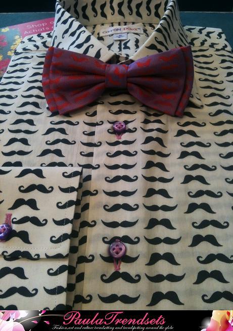 Coton Doux Moustache Shirt