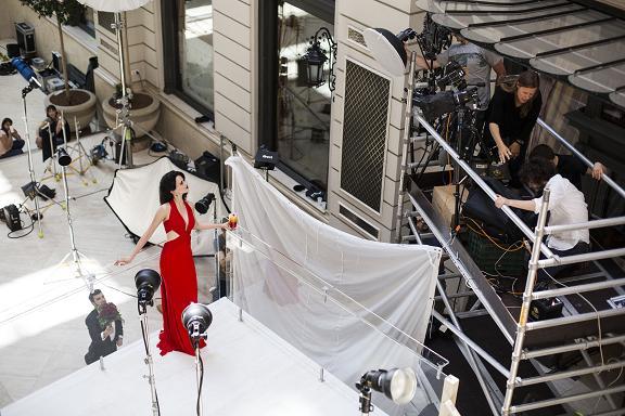 Eva Green Campari 2015 Calendar