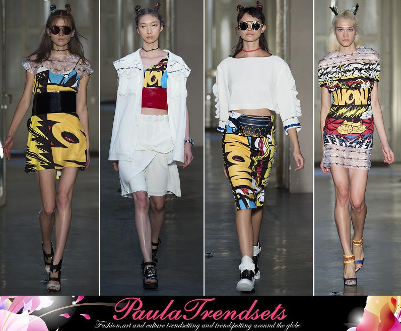 Ground Zero catwalk paris fashion week ss15 2