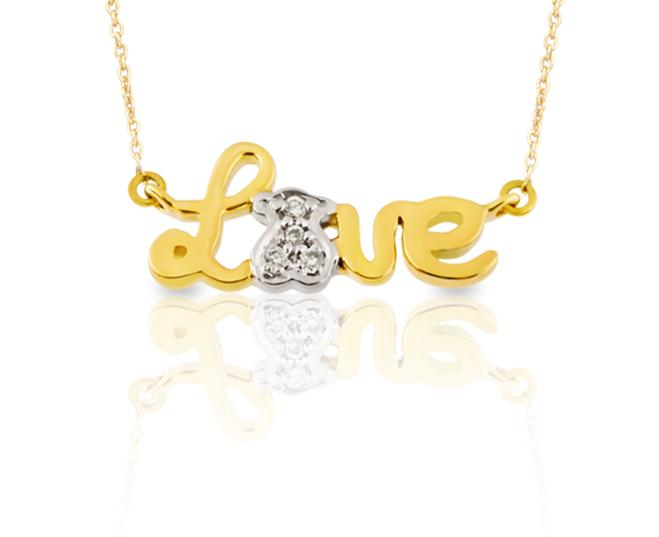 TOUS diamonds pendant
