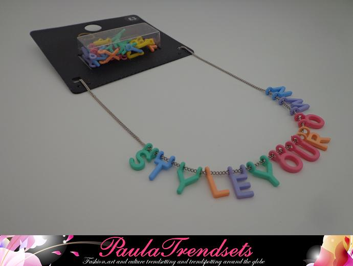 PASTEL NECKLACE PRIMARK