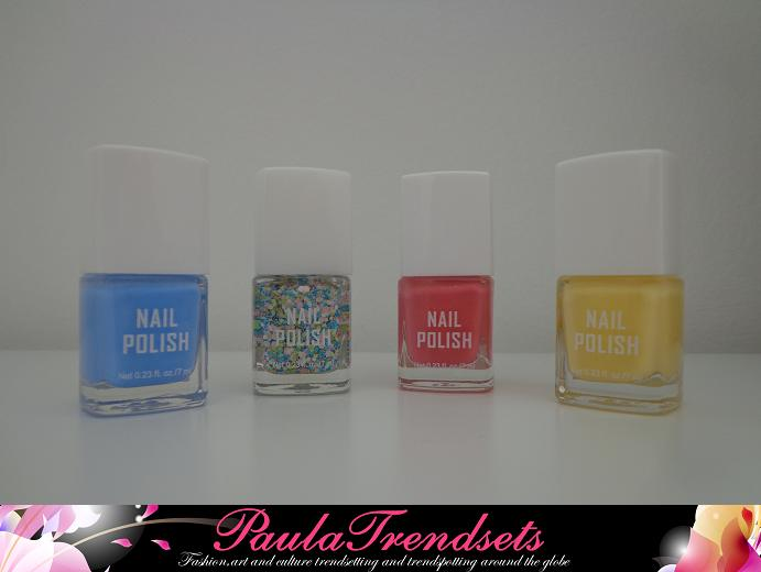 SPRING PASTELS MINI NAIL POLISH SET
