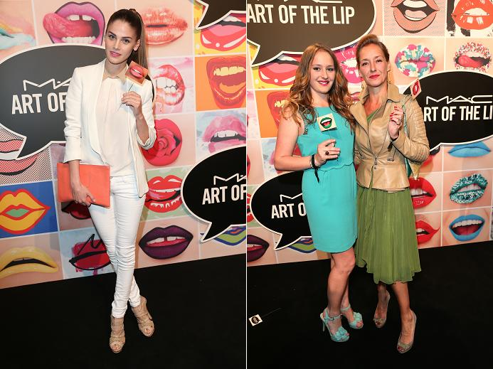 MUNICH, GERMANY - JUNE 24: Lisa Tomaschewsky during the presentation of 'Art of the Lip' by MAC Cosmetics at Haus der Kunst on June 24, 2015 in Munich, Germany. (Photo by Gisela Schober/Getty Images)