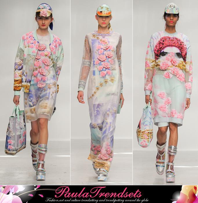 Pixelformula Manish Arora Womenswear Summer 2015 Ready To Wear Paris