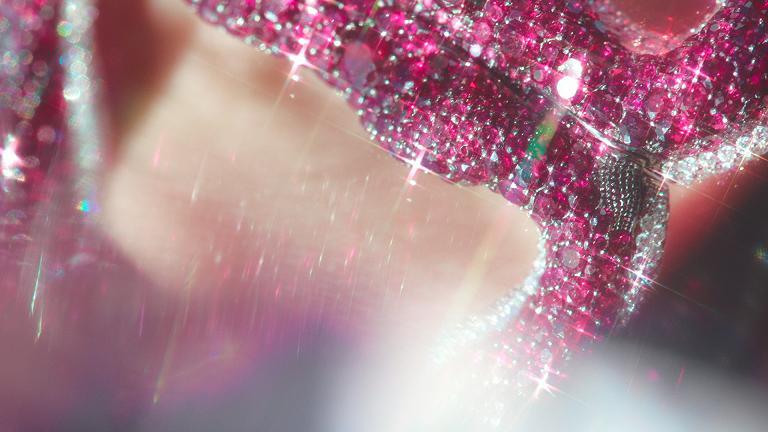 Mila Kunis Gemfields Rubies Jewellery Film