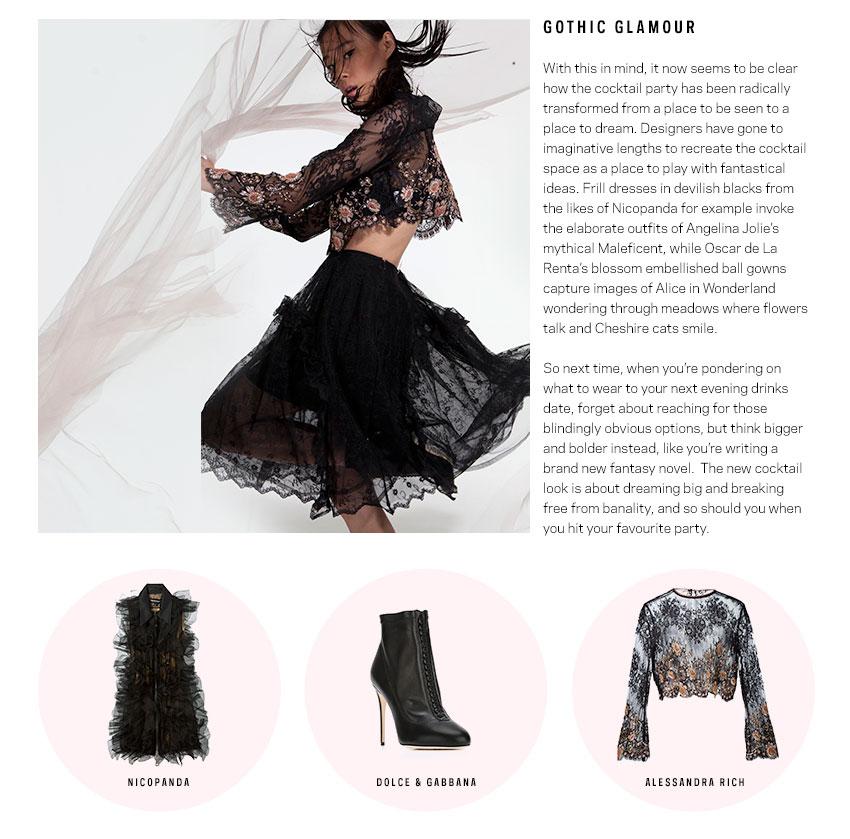 Gothic Glamour Fashion