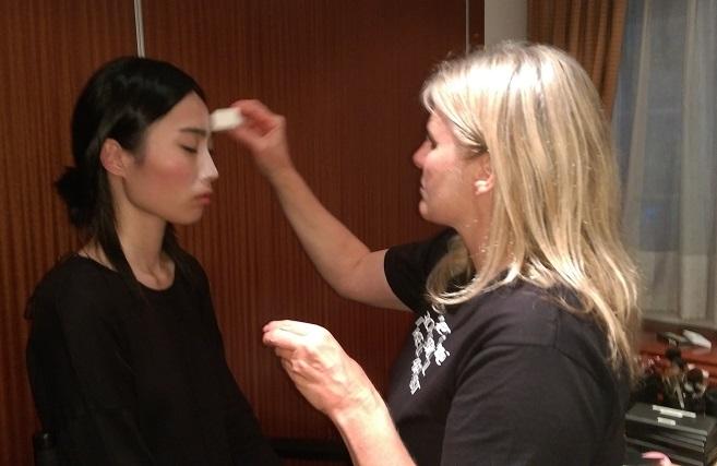 Backstage Makeup KB Catwalk Show