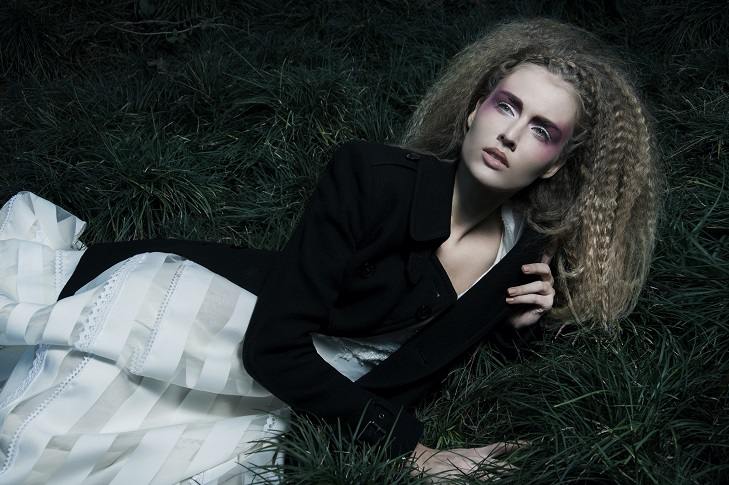 Dark tale fashion editorial