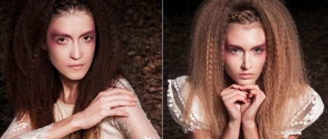 Crimped hair makes comeback as vintage romantic alternative