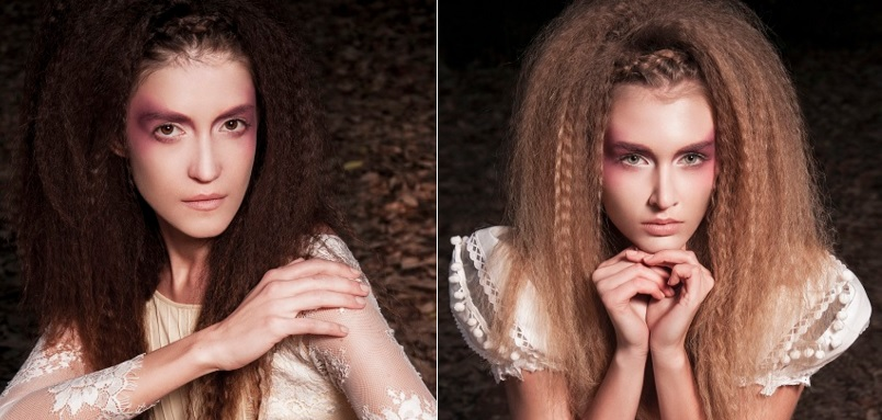Crimped hair makes comeback as vintage romantic alternative