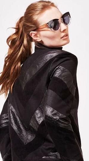Charlotte Zimbehl Leather Jacket
