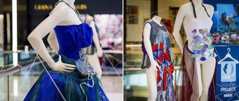 Fashion made of abandoned fishing nets