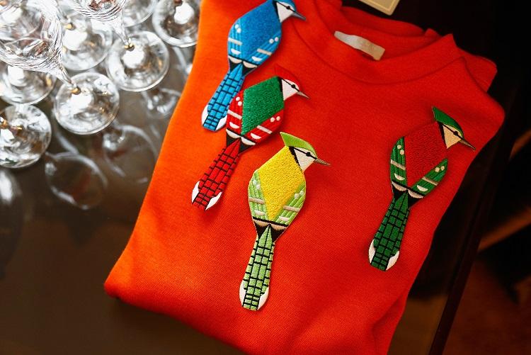 Korsun Paris Fashion Week Birds Top