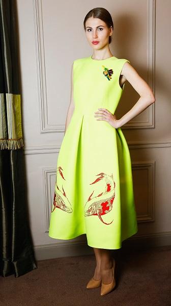 Korsun Paris Fashion Week Dress