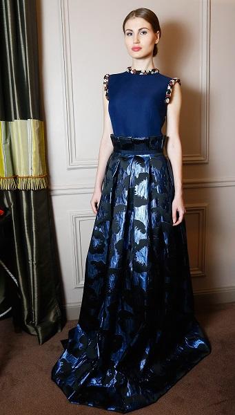 Korsun Paris Fashion Week Evening Dress