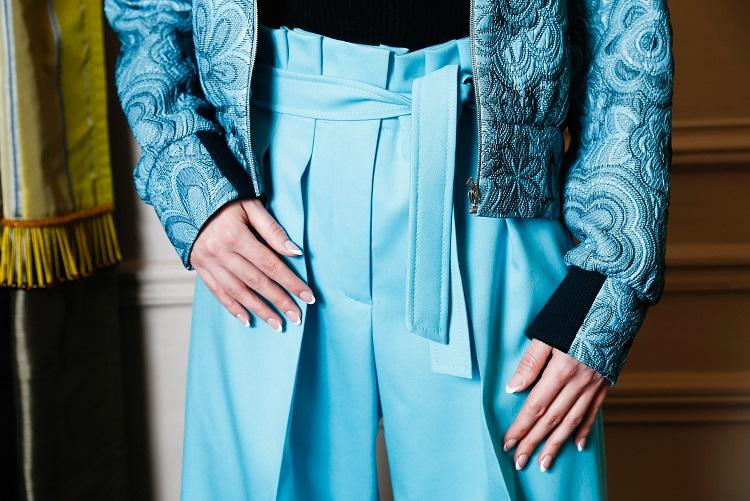 Korsun Paris Fashion Week Jacquard Detail