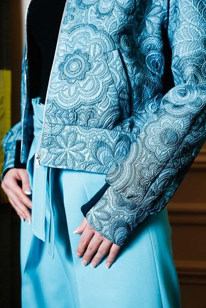 Korsun Paris Fashion Week Jacquard
