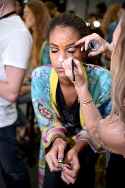 NYFW Desigual Fashion Show Makeup